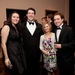 Margot Trevino, from left, Charles Rosson and Carrie and James Leader at the Rienzi Society dinner January 2014