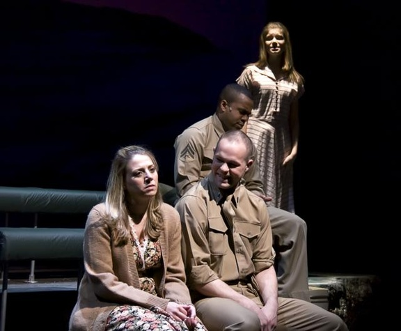 """The cast of """"Violet"""" at WaterTower Theatre"""