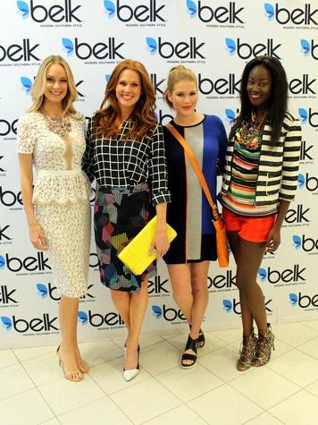 Models, Belk Spring Fashion Tour