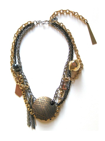 Michael where to shop right now Houston June 2013 Settlement Goods Lava Necklace 2, $200