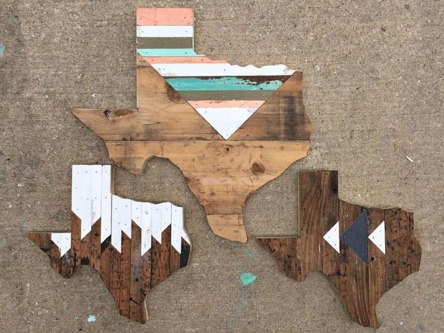 Hemlock and Heather Texas wall hangings
