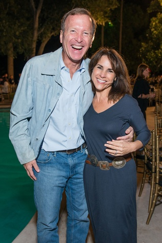 Neil and Maria Bush at the True Blue Gala November 2014