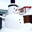 Elevation Hotel & Spa snowman