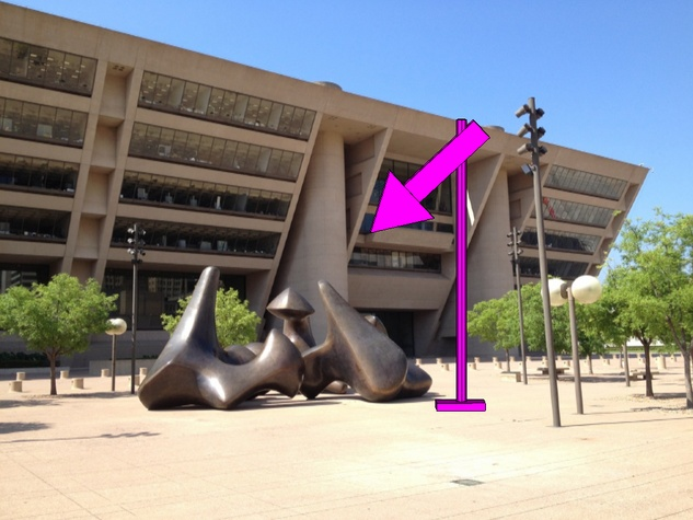 Rachel Harrison's Nasher Xchange sculpture