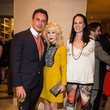 12 Monsour Taghdisi, from left, Diane Lokey Farb and Beth Muecke at the Houston Ballet kick-of party October 2014