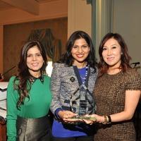 News, Interfaith Ministries luncheon, Nov. 2015, Habiba Dhanani, Nihala Zakaria, Mandy Kao