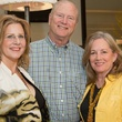 Judith Seay, Mike Shelby, Susan Bishop, MAC kick off party