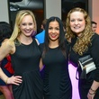 Katie Chachere, Elva Franco, Blaire Marshall, Brittany King, Kristin Kruse at the Young Professionals Backstage party
