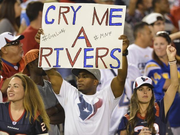 Texans fan comeback
