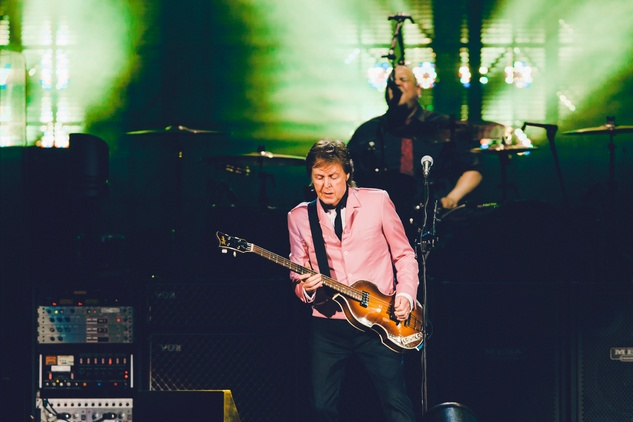 Paul McCartney at the Frank Erwin Center guitar