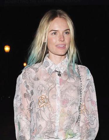 News_Kate Bosworth_blue tips_hair