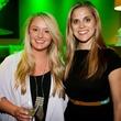 Alli McGuinness (left) and McKenzie Mundy, j r ewing bourbon launch party