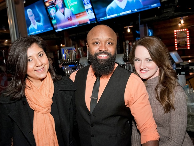 Houston, Redbuds date auction, February 2018, Christine Herrera, Mike Ladson, Crystal Shipman