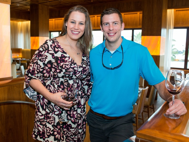 News, Shelby, Holiday Card kickoff, Oct. 2015, Erica Burns, Reed Gombert