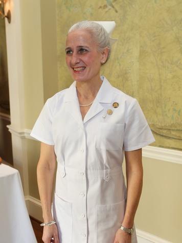 Karen Myers at the St. Luke's Friends of Nursing luncheon April 2014