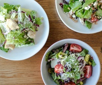 Trio of salads