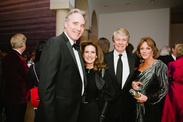 News, Shelby, Blanton Gala in Austin, Feb. 2015, Steve Patterson, Yasmin Patterson