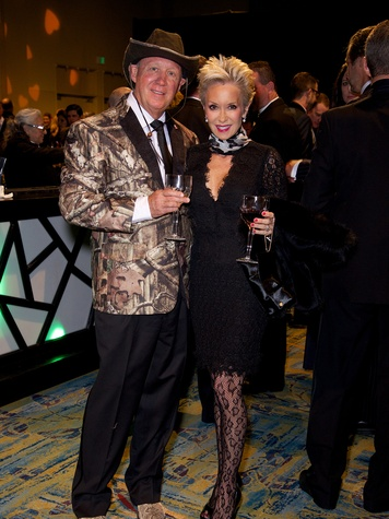 George and Dianne Lindahl at the Montgomery County Heart Ball March 2014