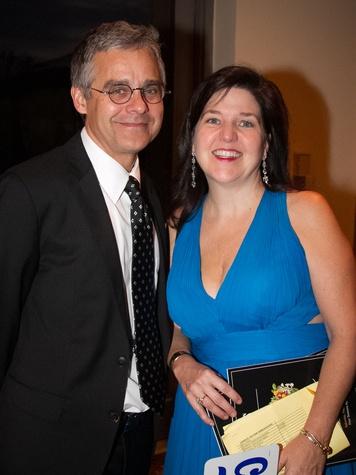 Austin Opera Serenata Wine Dinner & Auction Steve Hoelscher Paula Kothmann