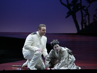 News_Madame Butterfly_Ana Maria Martinez as Madame Butterfly_Cio Cio San and Jospeh Calleja as Pinkerton