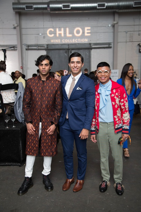 Fashion X Houston Adam Elara, Brian Albiter, Ralph Macabitas