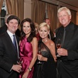 Brian and Norelle Becker, from left, Lorrie Morgan and Randy White at the Best Cellars dinner.