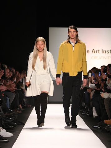 Clifford New York Fashion Week fall 2015 The Art Institutes winners February 2015 Grace Ahn designer