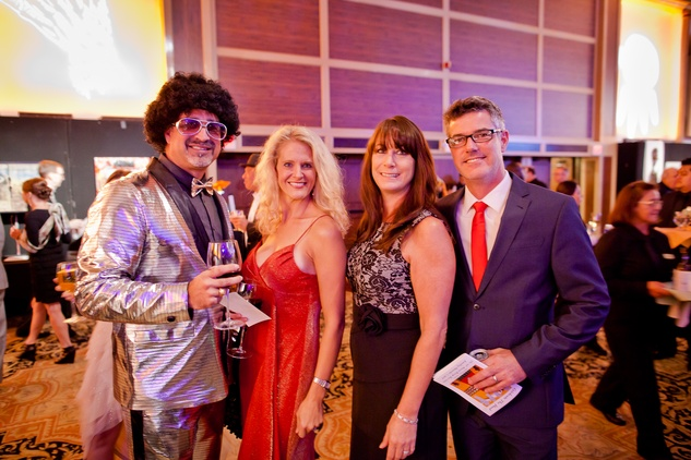 6 Todd and Heather Sutherland, from left, and Joelle and Alan Vermeulen at the Orange Show Gala November 2014