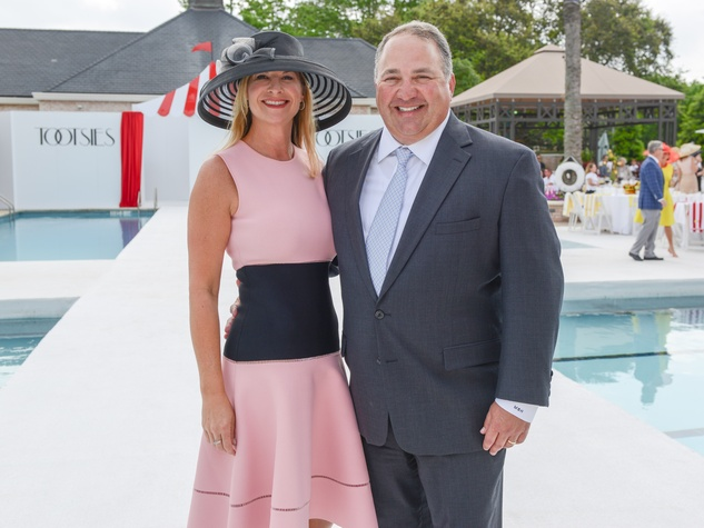 7 Amy and Mark Hammer at the River Oaks Tennis Tournament luncheon April 2015