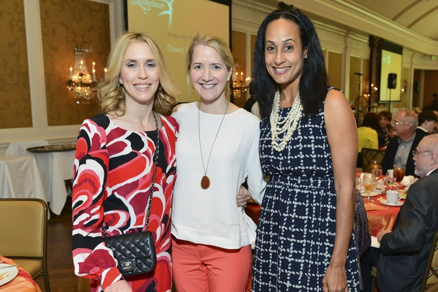 Wendy Bedortha, from left, Emily Covey and Wendy Richard at the On the Move luncheon March 2014