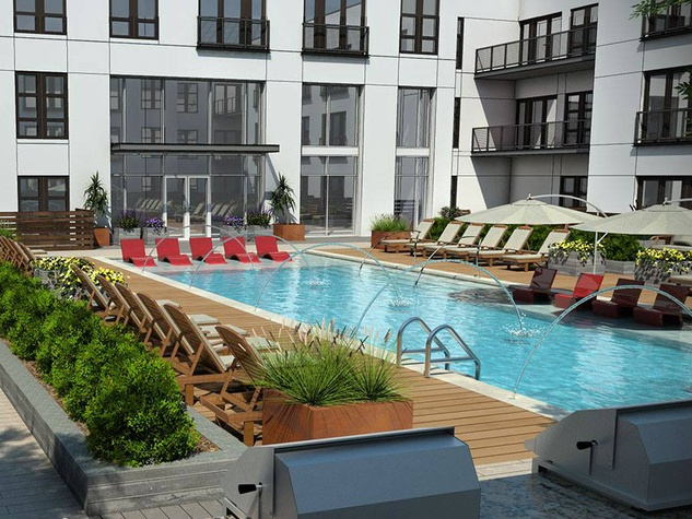 Harvest Lofts pool