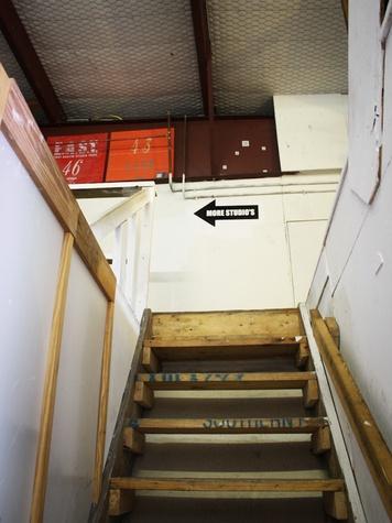 Austin Photo Set: News_Adrienne Breaux_Big Medium_August 2011_stairs