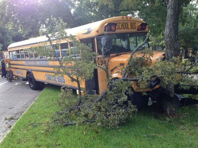 Nancy's School Bus/Memorial Area Accident