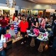 The crowd at Elaine's Big Life premier party at Elaine Turner November 2014