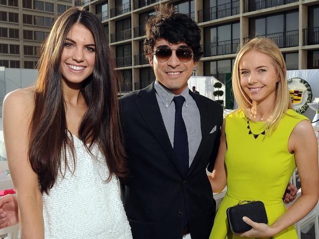 Simon Primavera Fashion Show, April 2013, Jordan Newman, Gabriel Rafael, Nicolette Hale