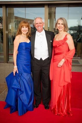 News, Symphony Centennial Ball, Vicki West, Dick Hansen, Susan Hansen, April 2014