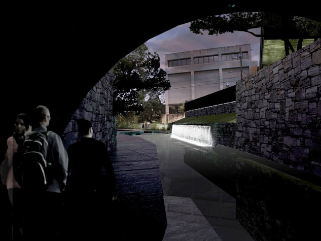 Waller Creek Show 2015 Volume Specht Harpman Architects rendering 2