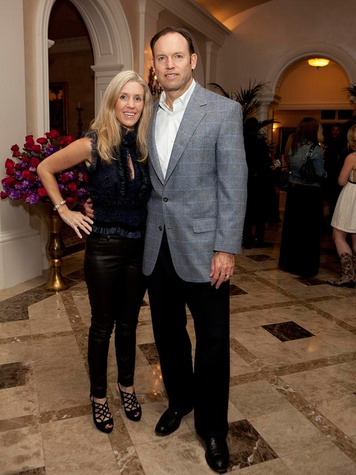 267 Michelle and Alan Smith at Texas Children's event November 2013