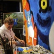 Houston, Rodrigue Exhibit at West Ave, June 2015, George Rodrigue