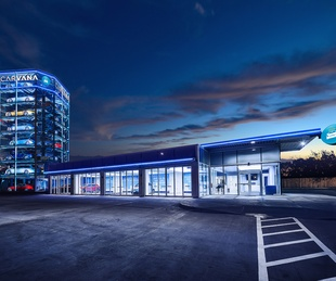 Carvana vending machine San Antonio