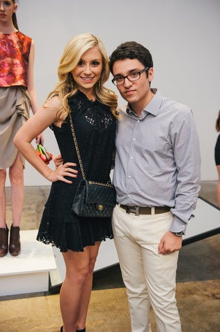 Lauren White and Amir Taghi at the Amir Taghi launch May 2014