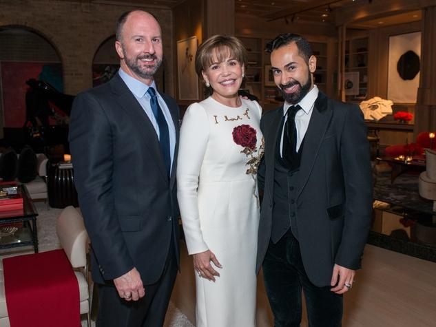 News, Shelby, Dolce & Gabbana dinner, Nov. 2015, Tony Bradfield, Hallie Vanderhider Fady Armanious