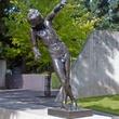 Rodin le génie du répos éternel sculpture at Museum of Fine Arts, Houston