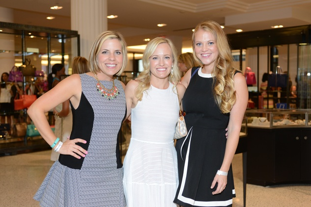 42 Jessica Jaggard, from left, Brittney Jaggard and Christen Hobbs at the WOW Summer Soiree August 2014