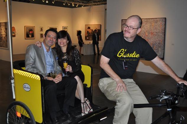 News, Shelby, Texas Contemporary opening, Sept. 2014,  Carlos Barbieri, Karina Barbieri, Bill Davenport