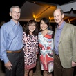 Drs. Danny and Linda Epner, from left, and Chinhui and Eddie Allen at the Rothko Chapel Moonrise Party October 2014
