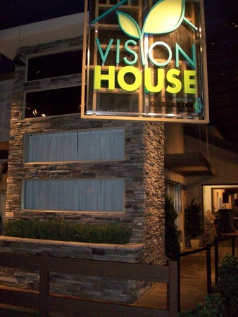 Ralph, Vision House, Epcot, November 2012, sign