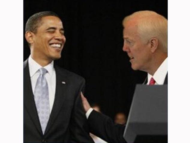 Photoshop controversy President Barack Obama with John Cornyn FAKE January 2014