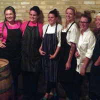 Austin chefs Erika Beneke, Bridget Bishop, Kenzie Allen, Hannah Love, Abby Yates, Alexis Chong