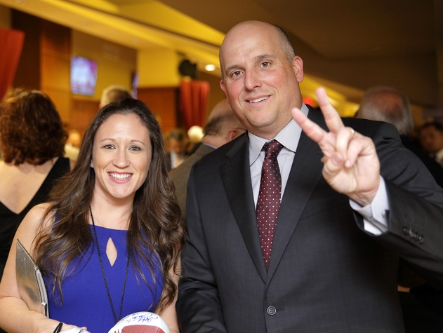 "Houston, Paul ""Bear"" Bryant Awards, college coach of the year, Jan 2017, Maleah Martin, Clay Helton"